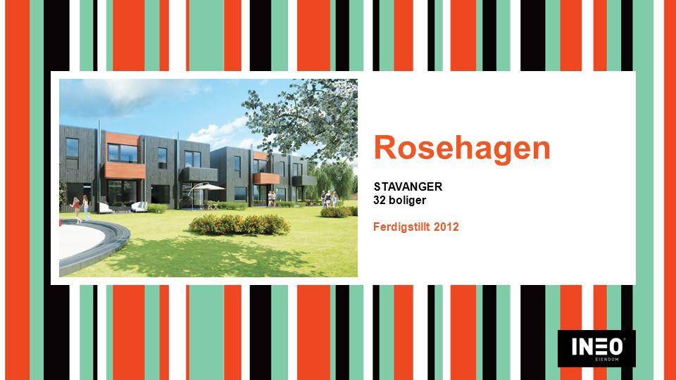 Rosehagen STAVANGER 32 boliger Ferdigstillt 2012