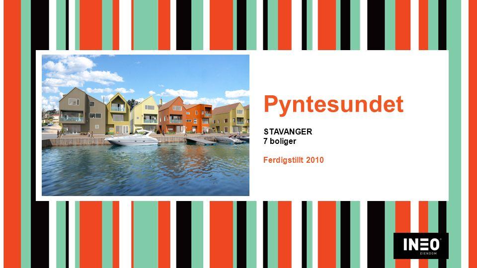 Pyntesundet STAVANGER 7 boliger Ferdigstillt 2010