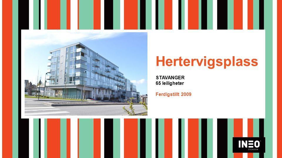 Hertervigsplass STAVANGER 65 leiligheter Ferdigstillt 2009