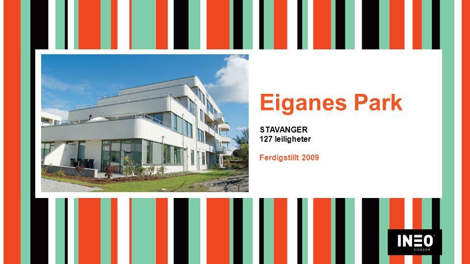 Eiganes Park STAVANGER 127 leiligheter Ferdigstillt 2009