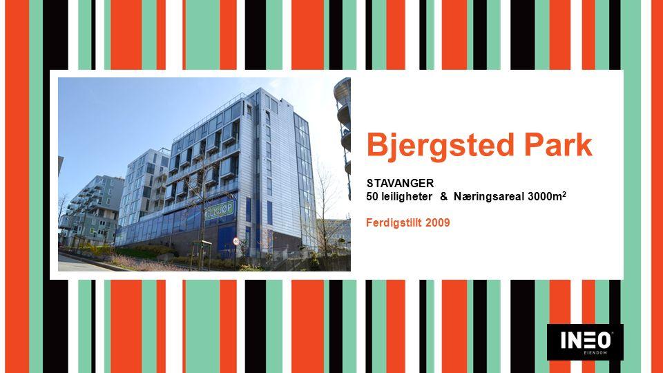 Bjergsted Park STAVANGER 50 leiligheter & Næringsareal 3000m 2 Ferdigstillt 2009