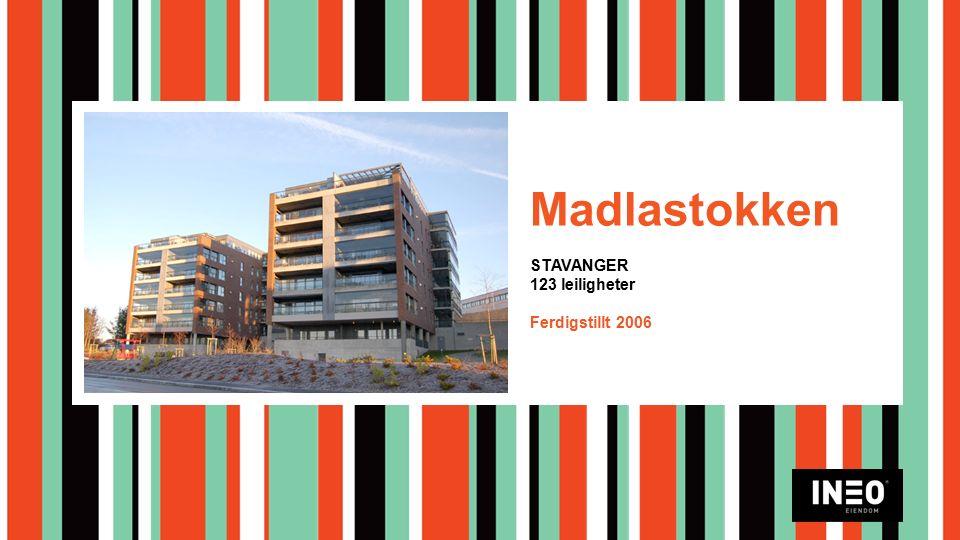 Madlastokken STAVANGER 123 leiligheter Ferdigstillt 2006