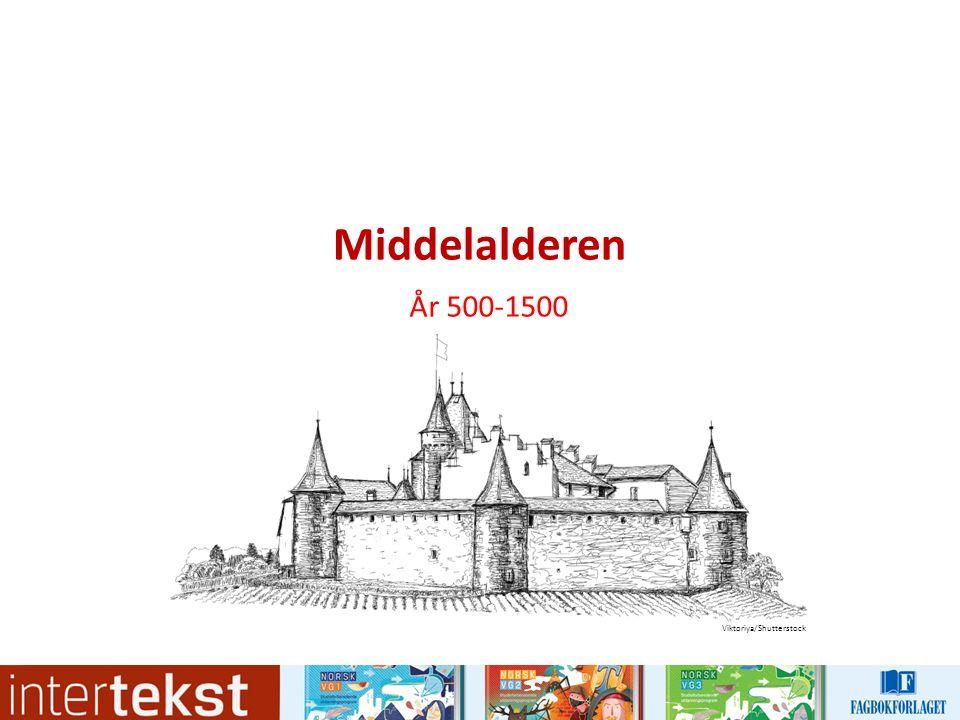 Hva tenker du når du hører ordet middelalder.