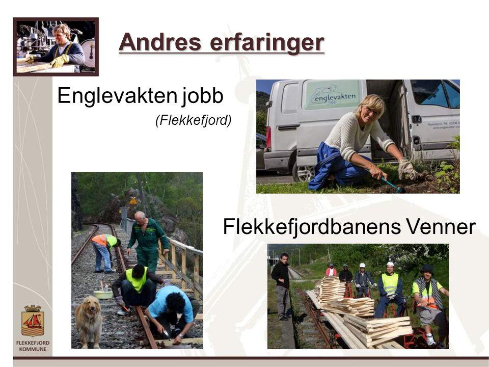 Andres erfaringer Englevakten jobb (Flekkefjord) Flekkefjordbanens Venner
