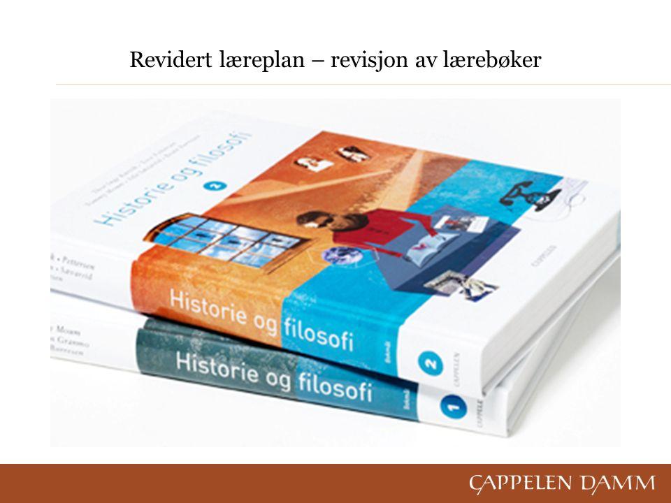 Revidert læreplan – revisjon av lærebøker