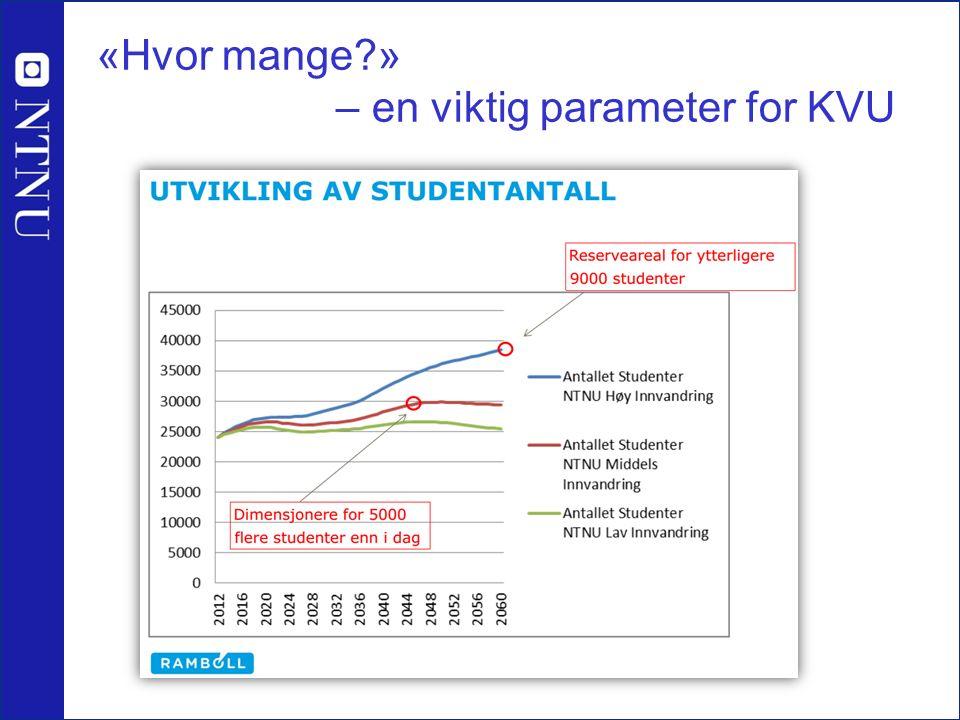 «Hvor mange?» – en viktig parameter for KVU