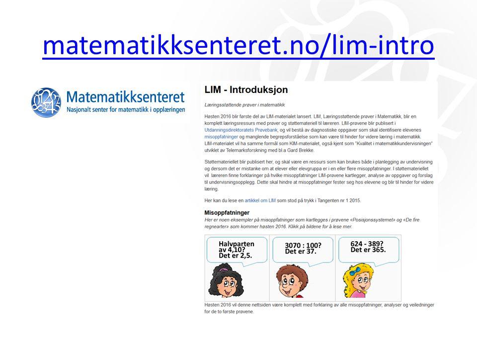 matematikksenteret.no/lim-intro