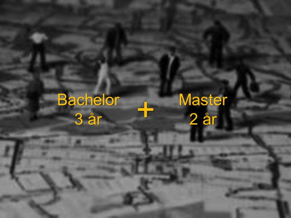 Bachelor 3 år +Master 2 år