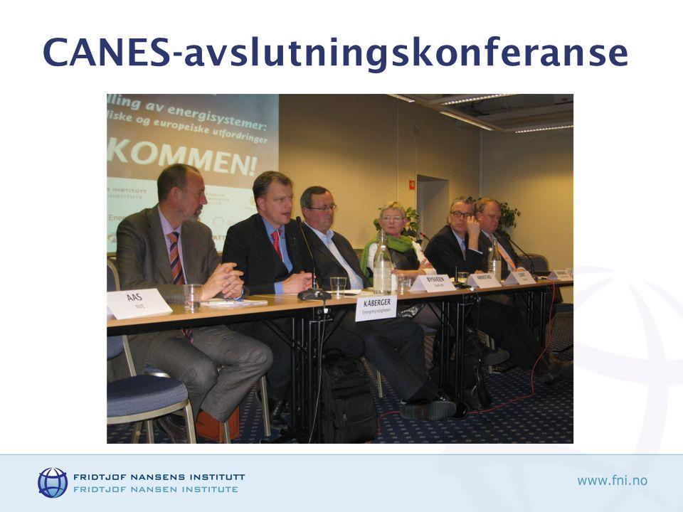 CANES-avslutningskonferanse