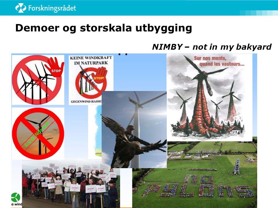 Å vinne både hjerne og hjerte NIMBY – not in my bakyard Stop global fooling