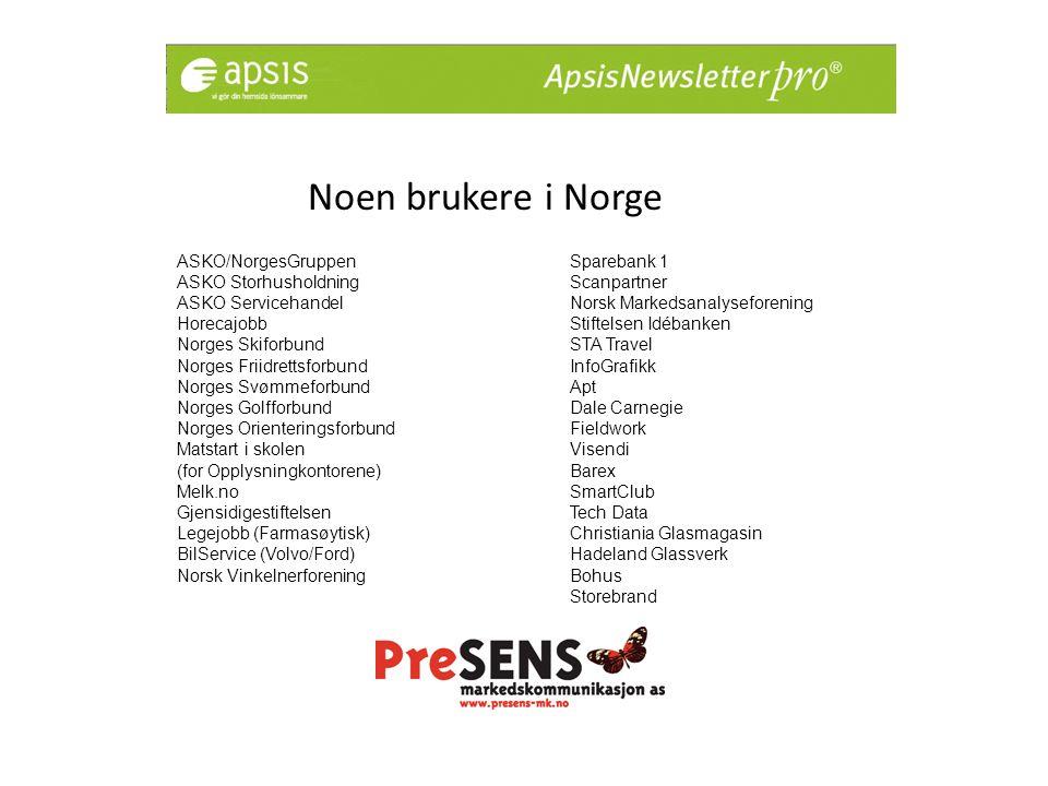 2000 kunder i Sverige Bl.a.
