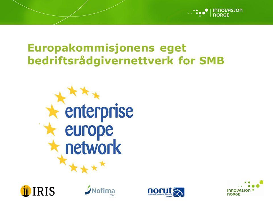 Europakommisjonens eget bedriftsrådgivernettverk for SMB