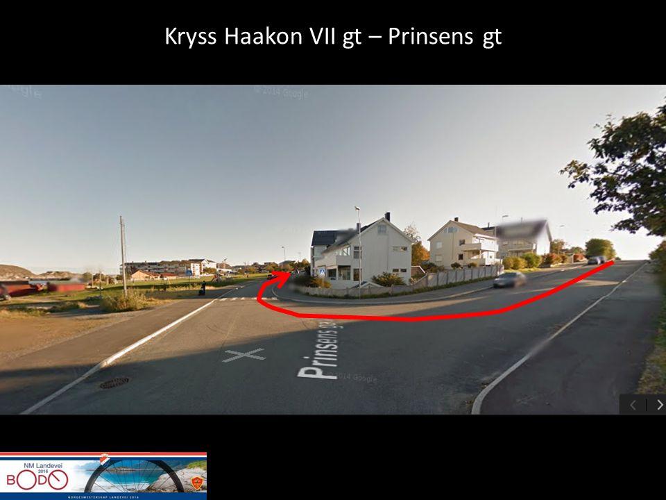 Kryss Haakon VII gt – Prinsens gt