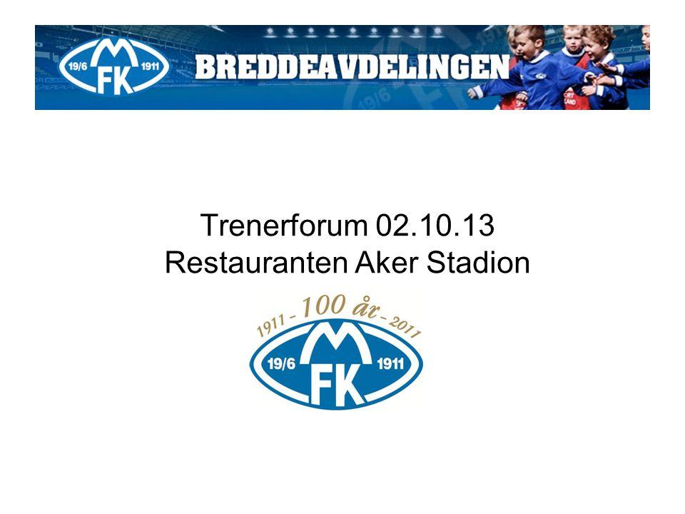 Trenerforum 02.10.13 Restauranten Aker Stadion