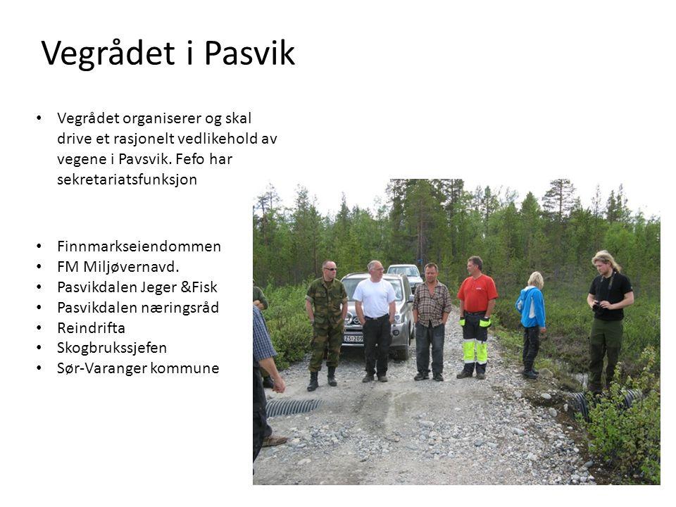 Vegrådet i Pasvik Finnmarkseiendommen FM Miljøvernavd.
