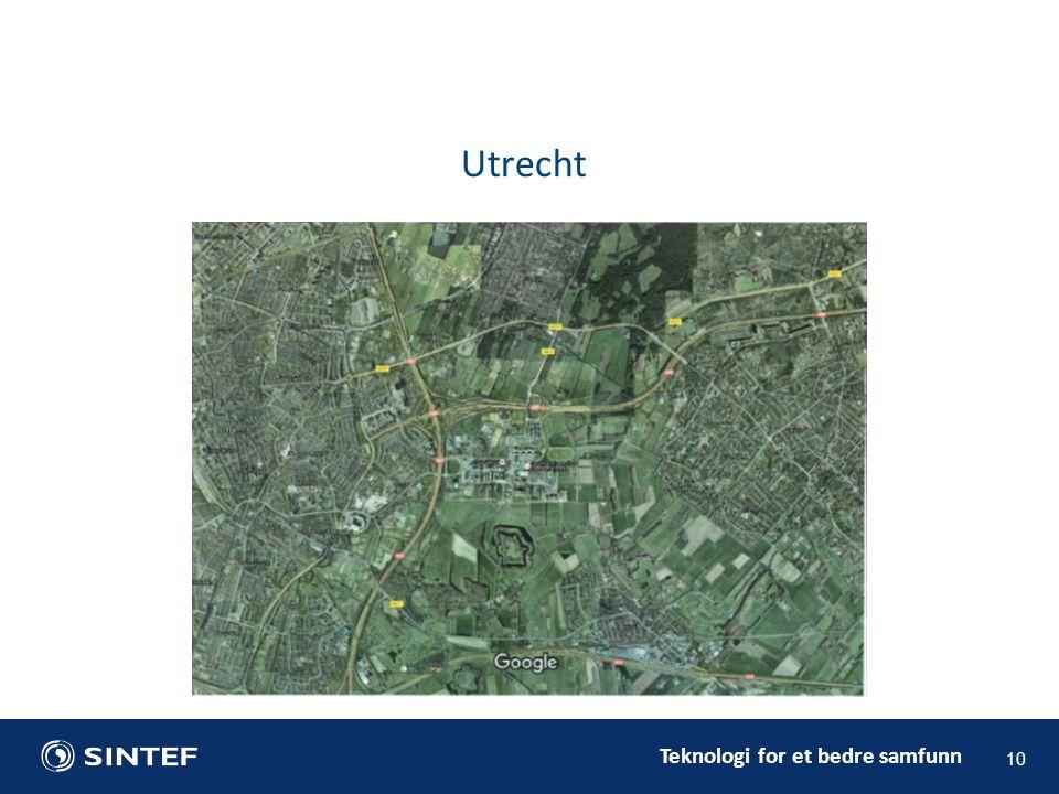 Teknologi for et bedre samfunn 10 Utrecht