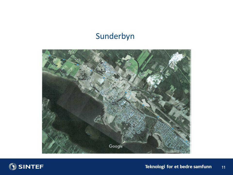 Teknologi for et bedre samfunn 11 Sunderbyn