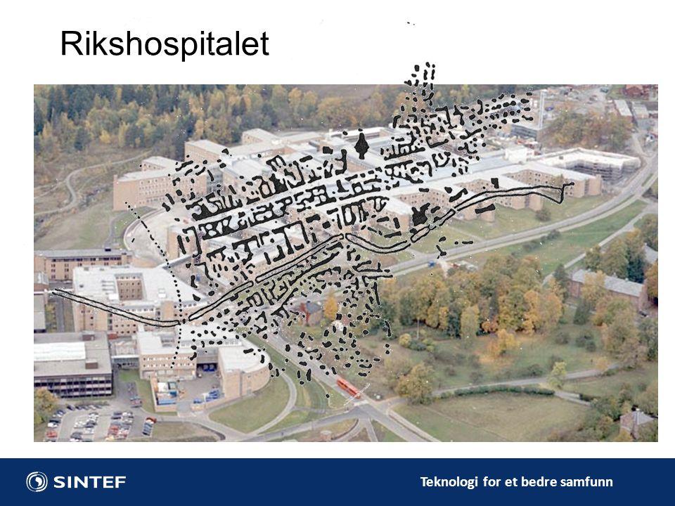Teknologi for et bedre samfunn 2Rikshospitalet