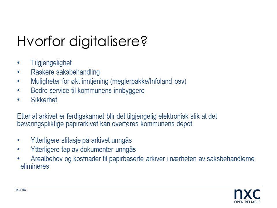 nxc.no Hvorfor digitalisere.