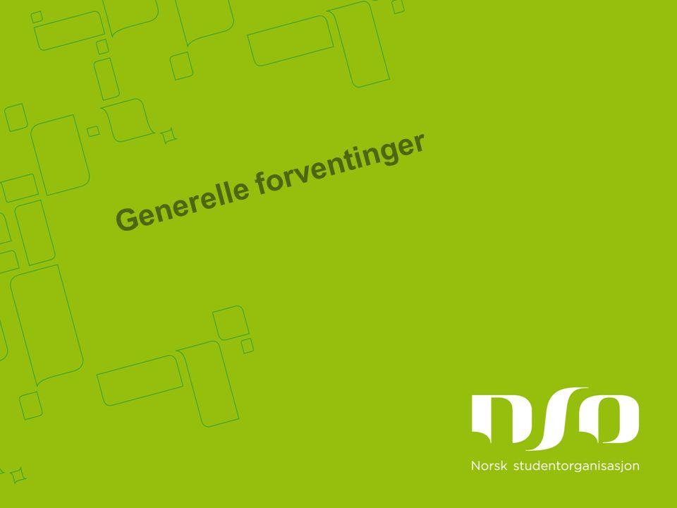 Generelle forventinger