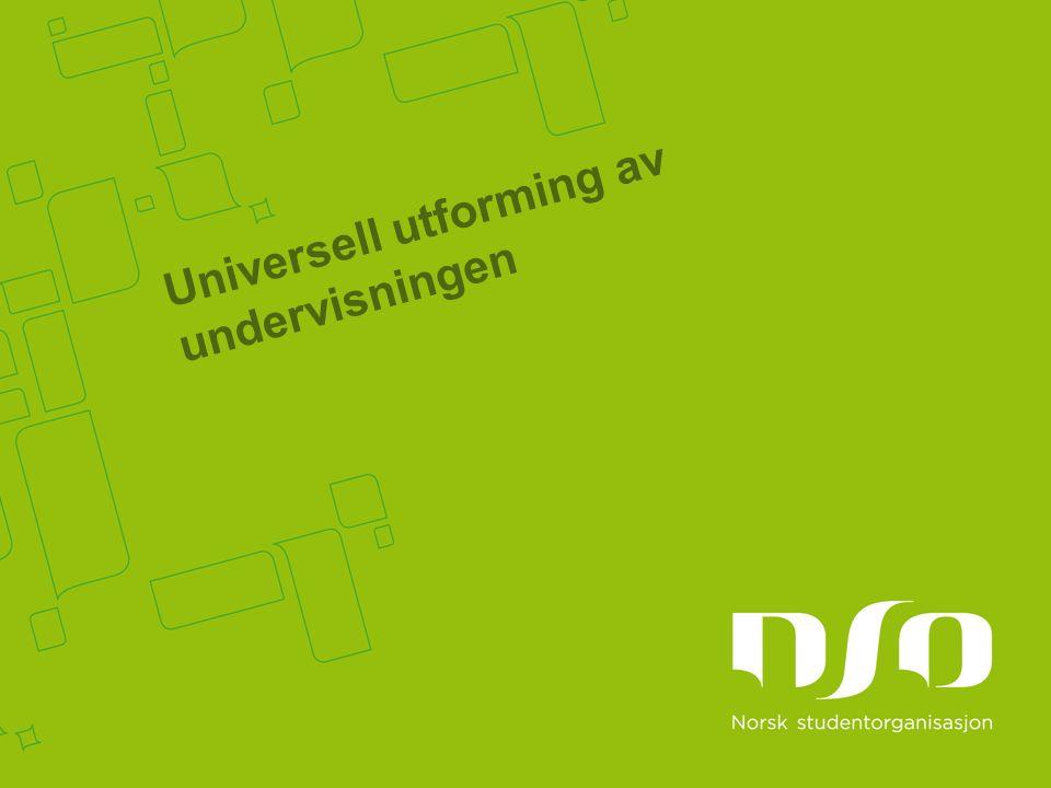 Universell utforming av undervisningen