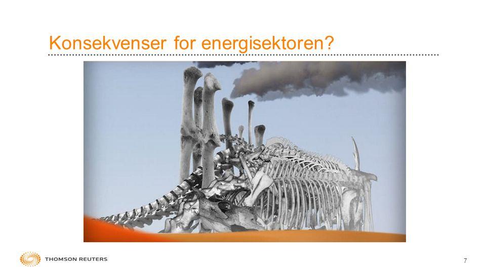 Konsekvenser for energisektoren? 7