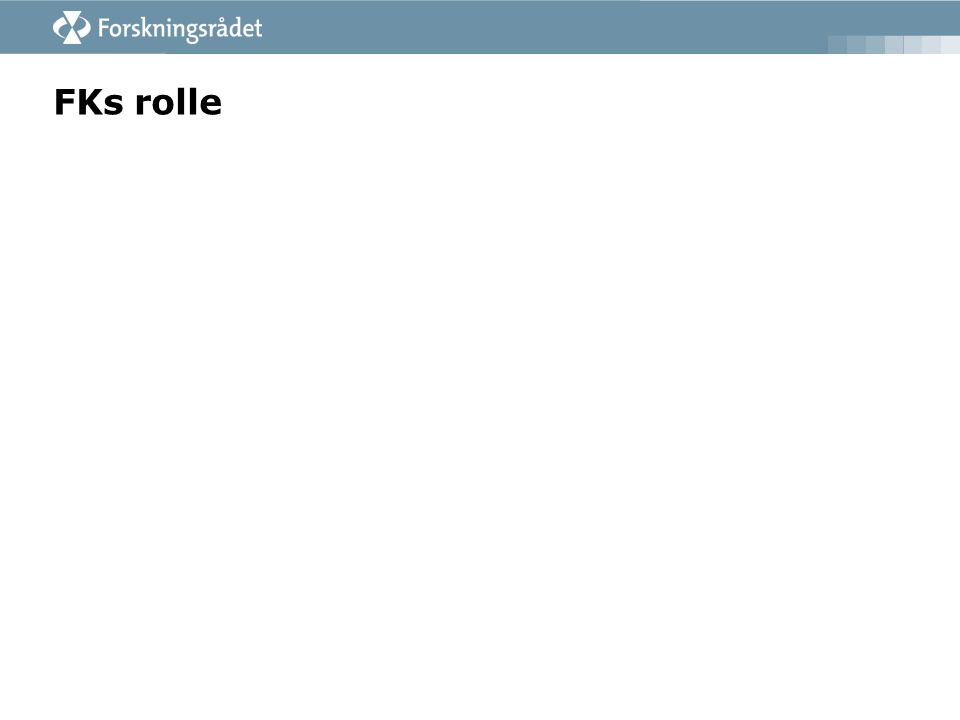 FKs rolle