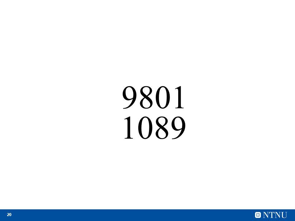 20 9801 1089