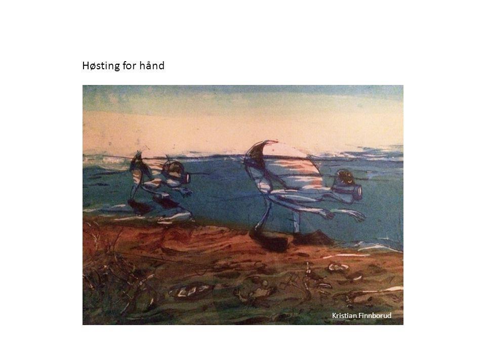 Høsting for hånd Kristian Finnborud