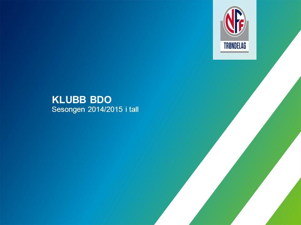 KLUBB BDO Sesongen 2014/2015 i tall
