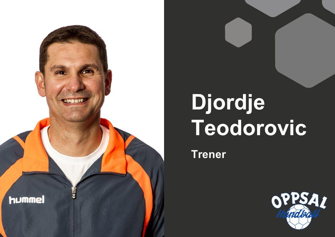 Trener Djordje Teodorovic