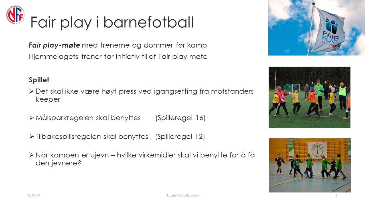 Spilleregel 16 – Målspark Syverfotball Det er ikke lov å kaste ballen over midten ved målspark/ målkast.
