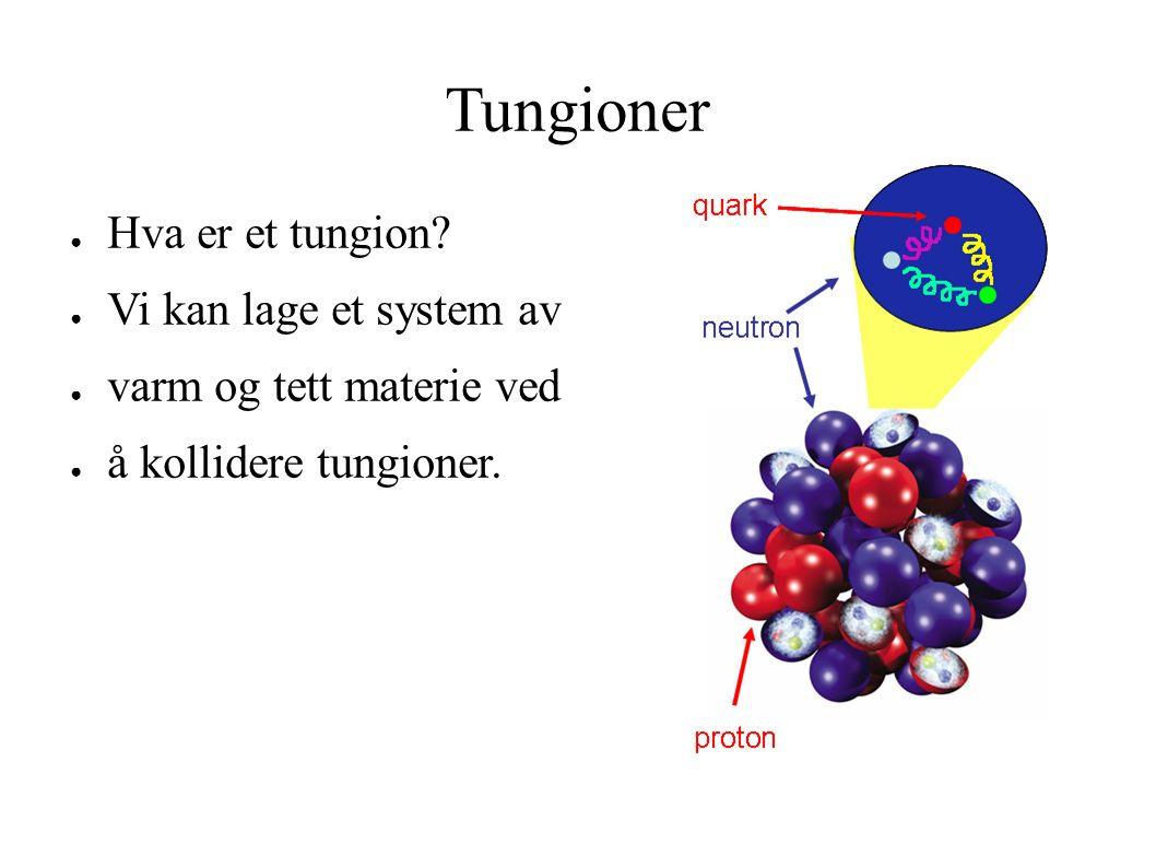 Tungioner ● Hva er et tungion.