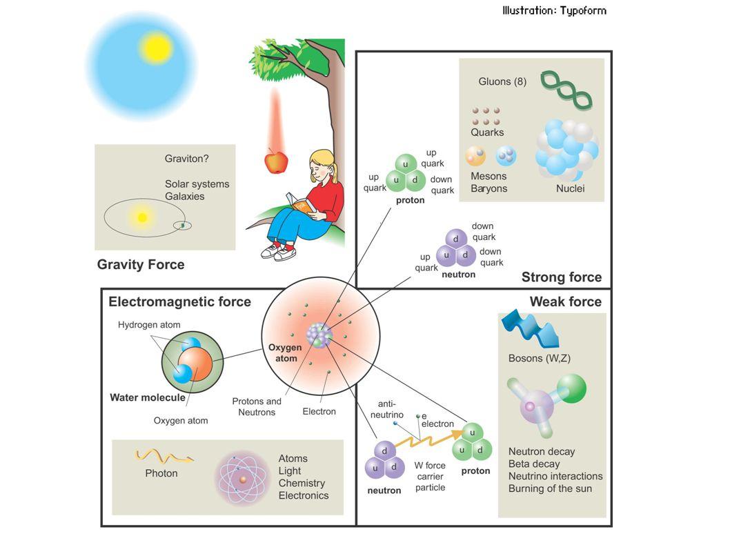 Teorien for den sterke vekselvirkningen ● Kvante Kromo Dynamikk (QCD).
