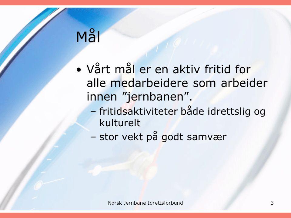 Organisasjonsform Norsk Jernbane Idrettsforbund4