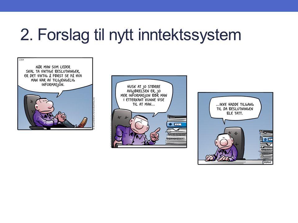 2. Forslag til nytt inntektssystem