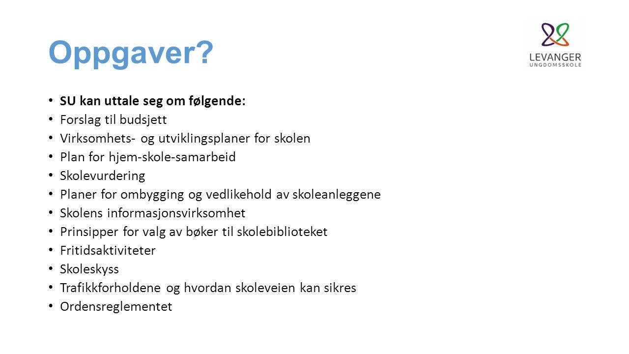 Sak 2: Orientering om oppstartsåret ved Levanger ungdomsskole ved rektor.