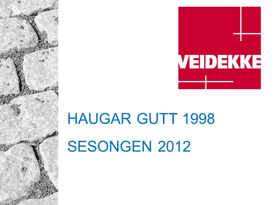 HAUGAR GUTT 1998 SESONGEN 2012