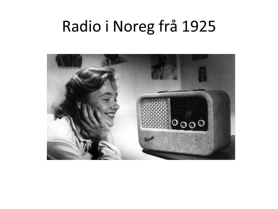 Radio i Noreg frå 1925