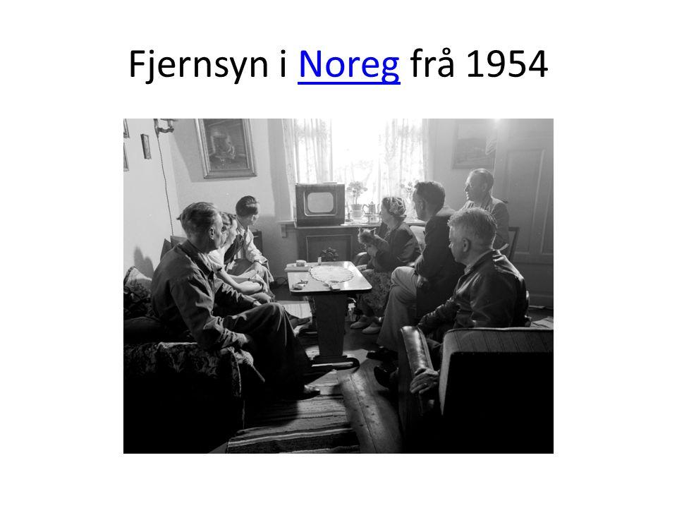 Fjernsyn i Noreg frå 1954Noreg