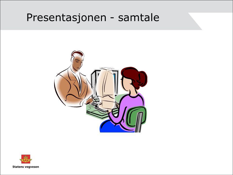 Presentasjonen - samtale