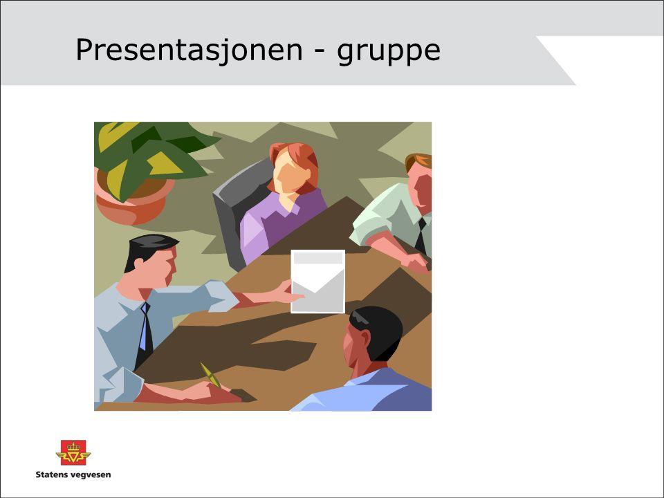 Presentasjonen - gruppe