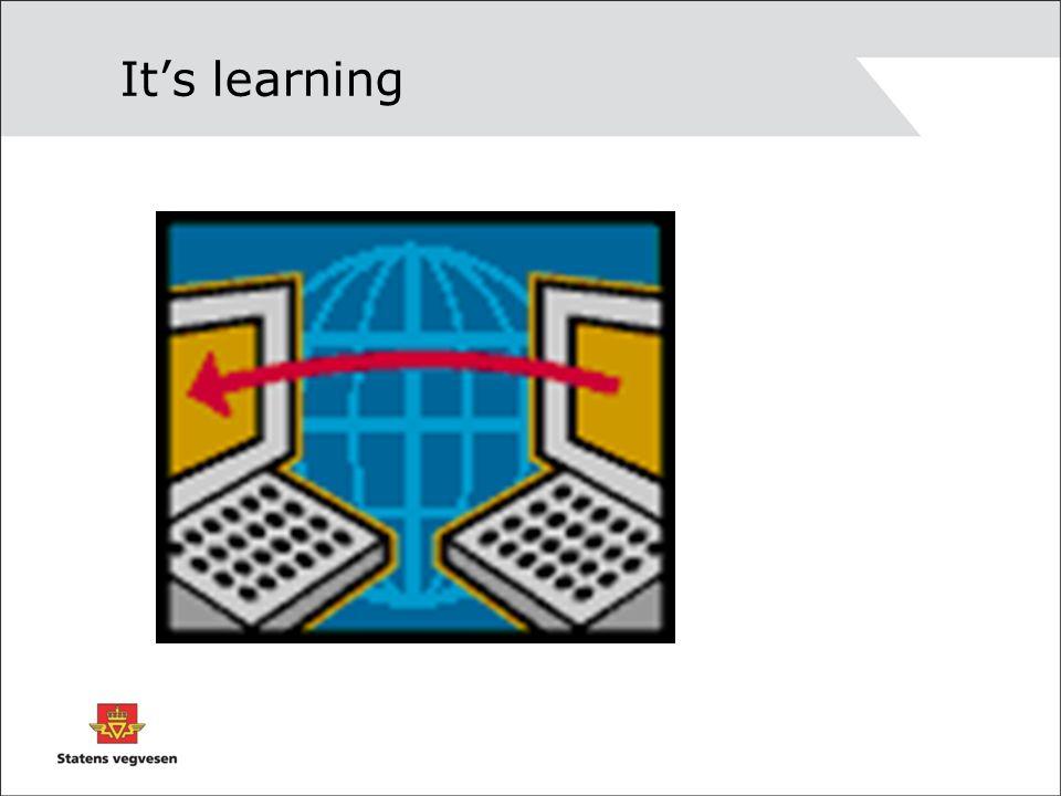 Gevinst Kompetanseheving, rekruttering og kvalitetssikring Bedre og logisk forankring av lærestoffet Bedre innlæring, studentene arbeider med stoffet også i periodene mellom samlingene Tidsmessig rasjonelt og fleksibelt for både student og lærer Studiepoeng + godkjent eksamen hvis du vil Profilering av SVV som en moderne etat