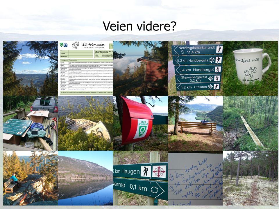 Stien som den grønne tråd Bo Lindblad Aktivitetskoordinator Øyer kommune TAKK FOR OPPMERKSOMHETEN