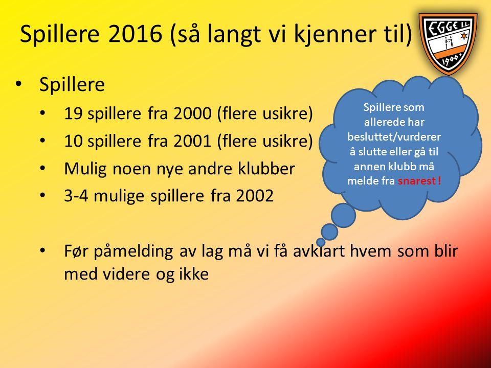 Spilleroversikt (inkl.