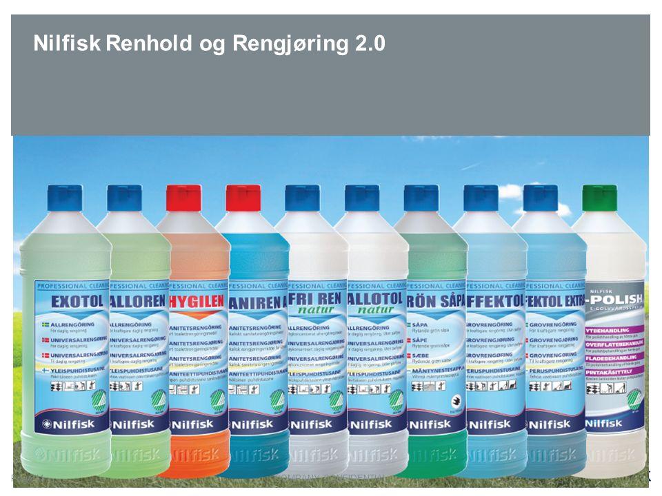 Nilfisk Renhold og Rengjøring 2.0 COMPANY CONFIDENTIALPage 11
