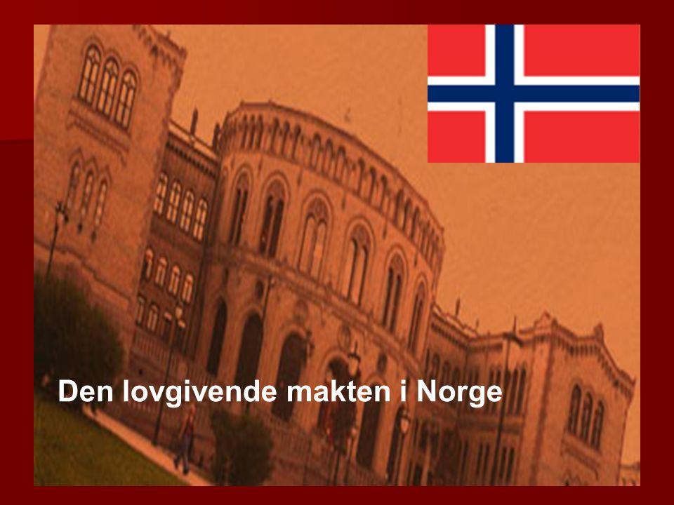 Den lovgivende makten i Norge