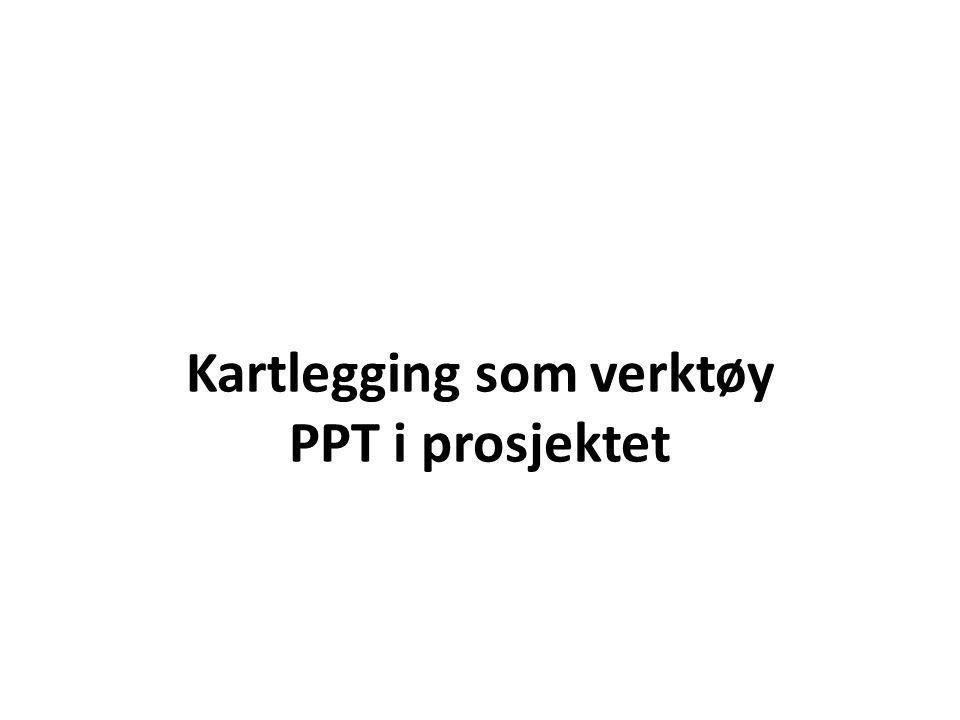 PPT i prosjektet PPT ble definert inn på et tidlig tidspunkt i prosjektet.