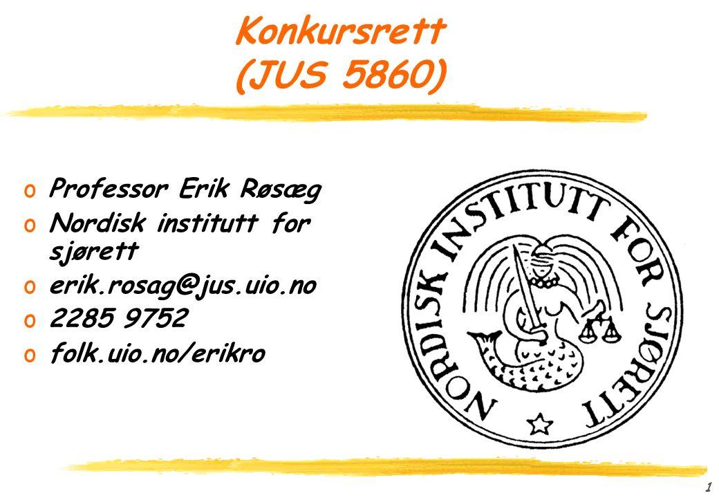 51 Kontrakter i konkurs oAnvendelsesområdet for deknl kap 7 (deknl §§ 2-2, 7-1 og 7-3(2)) oHensynene bak reglene oBetydningen av om medkontrahenten har separatistrett for sine interesser (deknl § 7-7(2)) oNettobeslag (i kontraktsgjenstanden) oBruttobeslag (i kontrakten med pluss og minus)