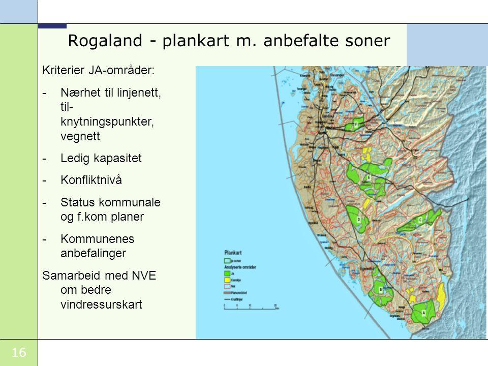 16 Rogaland - plankart m.